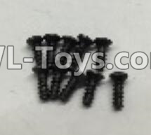 Wltoys 18403 RC Car Parts-A949-47 Countersunk self tapping screws Parts(M2x16)-10pcs,Wltoys 18403 Parts