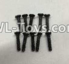 Wltoys 18403 RC Car Parts-A949-48 Countersunk self tapping screws Parts(M2x9.5)-10pcs,Wltoys 18403 Parts