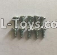 Wltoys 18403 RC Car Parts-0921 Round Head self tapping screws Parts(M2x4)-10pcs,Wltoys 18403 Parts
