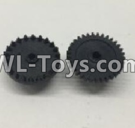 Wltoys 18404 RC Car Parts-The first and The second level gear Parts(Total 2pcs)-0905,Wltoys 18404 Parts