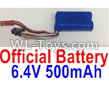 Wltoys 18404 RC Car Parts-Battery Parts-6.4V 500mAh Battery Parts(1pcs)-0914,Wltoys 18404 Parts