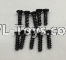 Wltoys 18404 RC Car Parts-Round Head self tapping screws Parts(M2x7)-10pcs-A949-39,Wltoys 18404 Parts