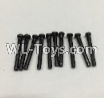 Wltoys 18404 RC Car Parts-Round Head self tapping screws Parts(M2x19)-10pcs-0917,Wltoys 18404 Parts