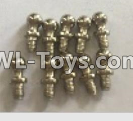 Wltoys 18404 RC Car Parts-K929-14 Ball head screws Parts(4X9.4)-10pcs,Wltoys 18404 Parts