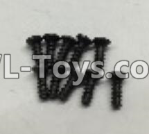 Wltoys 18404 RC Car Parts-A949-47 Countersunk self tapping screws Parts(M2x16)-10pcs,Wltoys 18404 Parts