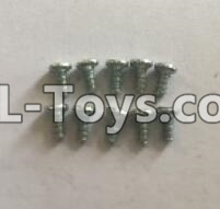 Wltoys 18404 RC Car Parts-0921 Round Head self tapping screws Parts(M2x4)-10pcs,Wltoys 18404 Parts