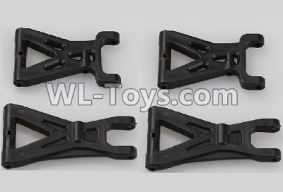 Wltoys 18405 RC Car Parts-Front and Rear Swing arm Parts,Suspension Arm(Total 4pcs)-A959-02,Wltoys 18405 Parts
