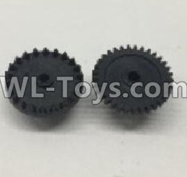 Wltoys 18405 RC Car Parts-The first and The second level gear Parts(Total 2pcs)-0905,Wltoys 18405 Parts