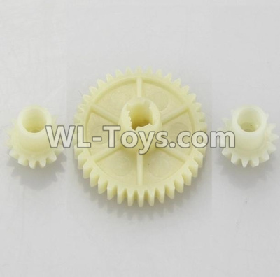 Wltoys 18405 RC Car Parts-Reduction gear with 2 small gear-A949-24,Wltoys 18405 Parts