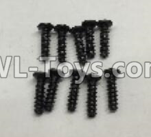 Wltoys 18405 RC Car Parts-Round Head self tapping screws Parts(M2x7)-10pcs-A949-39,Wltoys 18405 Parts