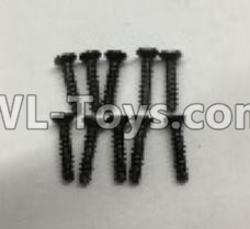 Wltoys 18405 RC Car Parts-A949-48 Countersunk self tapping screws Parts(M2x9.5)-10pcs,Wltoys 18405 Parts