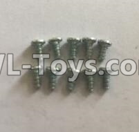 Wltoys 18405 RC Car Parts-0921 Round Head self tapping screws Parts(M2x4)-10pcs,Wltoys 18405 Parts