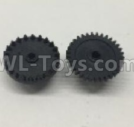 Wltoys 18409 RC Car Parts-The first and The second level gear Parts(Total 2pcs)-0905,Wltoys 18409 Parts
