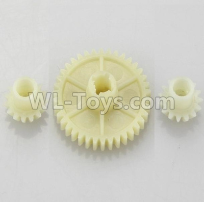 Wltoys 18409 RC Car Parts-Reduction gear with 2 small gear-A949-24,Wltoys 18409 Parts