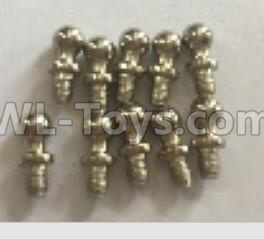 Wltoys 18409 RC Car Parts-K929-14 Ball head screws Parts(4X9.4)-10pcs,Wltoys 18409 Parts