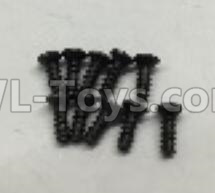 Wltoys 18409 RC Car Parts-A949-47 Countersunk self tapping screws Parts(M2x16)-10pcs,Wltoys 18409 Parts