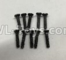 Wltoys 18409 RC Car Parts-A949-48 Countersunk self tapping screws Parts(M2x9.5)-10pcs,Wltoys 18409 Parts
