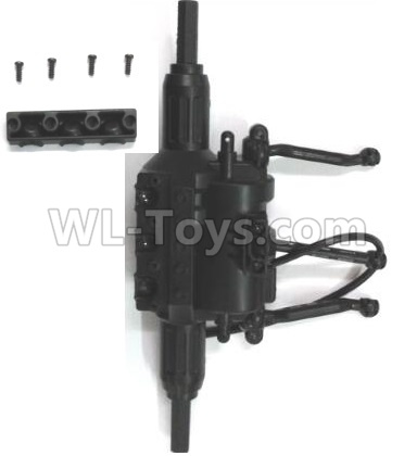 Wltoys 18628 RC Car Parts-Middle drive gearBox Parts assembly-0673,Wltoys 18628 Parts