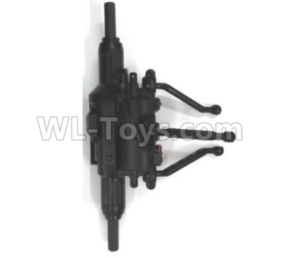 Wltoys 18628 RC Car Parts-Rear drive gearbox assembly Parts-0670,Wltoys 18628 Parts