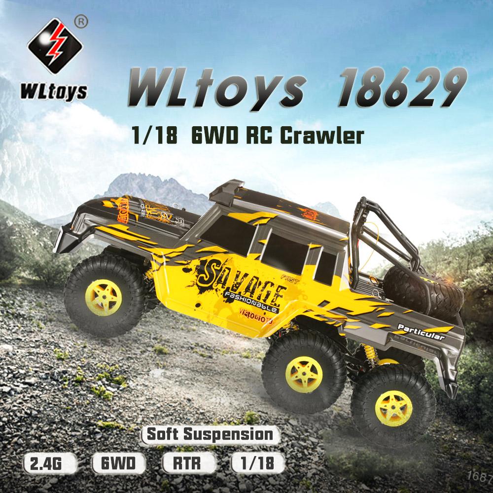 Wltoys 18629 RC Car,rc rock crawler racing buggy,1/18 Wltoys 18629