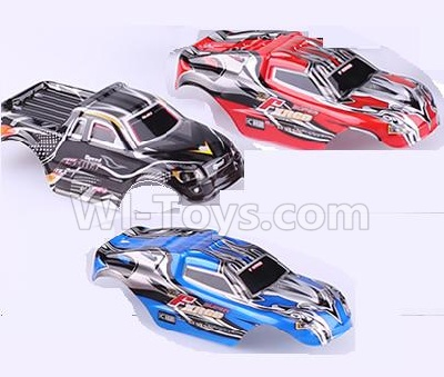 Wltoys 2019 RC Car Body Shell Cover Parts,Car Canopy-(3pcs-Rex,Blue,Black),Wltoys 2019 Parts