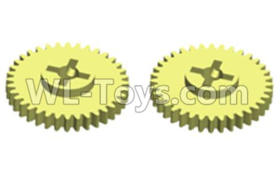 Wltoys 20402 RC Car Parts-Reduction gear(2pcs)-0619,Wltoys 20402 Parts