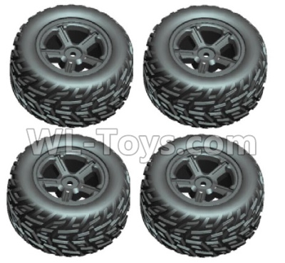 Wltoys 20402 RC Car Parts-Whole wheel unit(2x left and 2x Right)-0632,Wltoys 20402 Parts