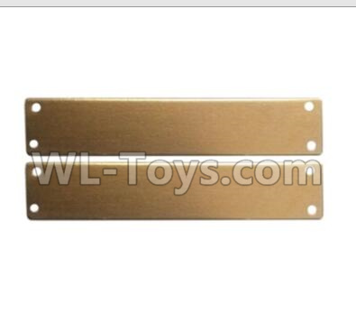 Wltoys 20402 RC Car Parts-Left and right side aluminum sheet assembly-0649,Wltoys 20402 Parts
