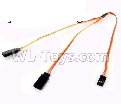 Wltoys 20402 RC Car Upgrade 1-TO-2 Conversion wire for the Led Light-0656,Wltoys 20402 Parts
