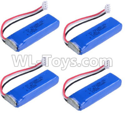 Wltoys 20402 RC Car Parts-Battery Parts-7.4V 500mah Battery Parts(4pcs)-0658,Wltoys 20402 Parts