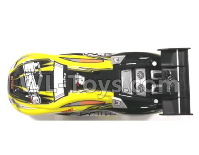 Wltoys 20404 RC Car Parts-Body Shell Cover Parts-Yellow-0627,Wltoys 20404 Parts
