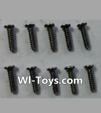 Wltoys 24438 RC Car Parts-Round-Head Self-tapping screws Parts(10pcs)-M1.7x7,Wltoys 24438 Parts