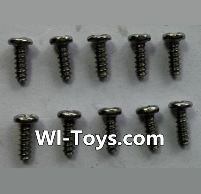 Wltoys 24438 RC Car Parts-Round-Head Self-tapping screws Parts(10pcs)-M1.7x5,Wltoys 24438 Parts