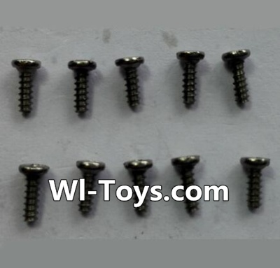 Wltoys 24438 RC Car Parts-Round-Head Self-tapping screws Parts(10pcs)-M1.4x4,Wltoys 24438 Parts