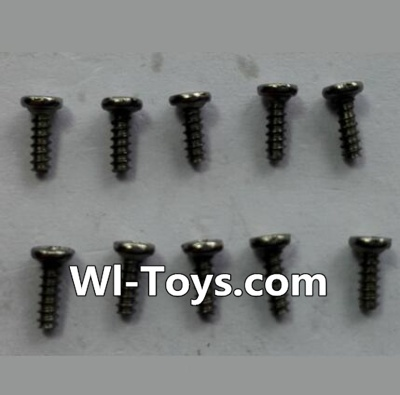 Wltoys 24438 RC Car Parts-Countersunk head Self-tapping screws Parts(10pcs)-M1.7x5,Wltoys 24438 Parts