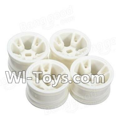 Wltoys A202 A202 Car Hub,Car wheel(4pcs)-(Can be used for A202 A212 A222,And you must buy the A202 Tire leather)