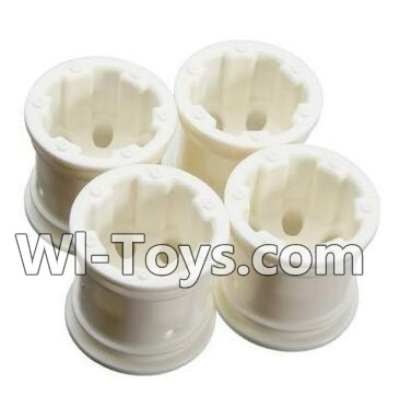 Wltoys A212 RC Car Hub,Car wheel(4pcs)-(Can be used for A232 A242 A252,And you must buy the A212 Tire leather)