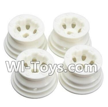 Wltoys A232 Car Hub,Car wheel(4pcs)-(Can be used for A232 A242 A252,And you must buy the A232 Tire leather)