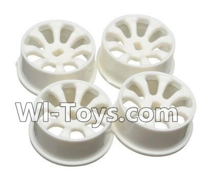 Wltoys A242 Car Hub,Car wheel(4pcs)-(Can be used for A232 A242 A252,And you must buy the A242 Tire leather)