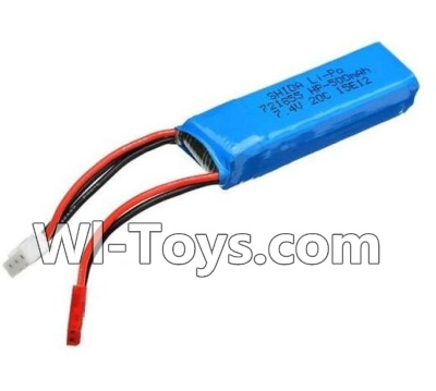 Wltoys A232 A242 A252 Parts-Battery Parts-7.4v 500mah Battery(1pcs)