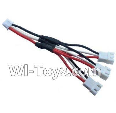 Wltoys A202 A212 A222 Upgrade Parts-Upgrade 1-to-3 coversion Charging cable