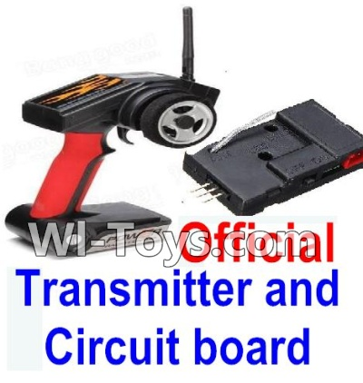 Wltoys A202 A212 A222 Parts-Transmitter & Official Circuit board
