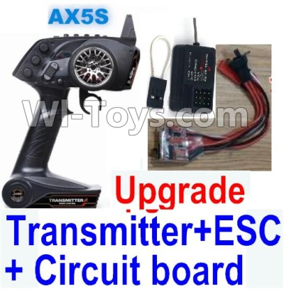 Wltoys A232 A242 A252 Parts-Upgrade AX5S Transmitter & Upgrade 30A ESC & Upgrade Circuit board