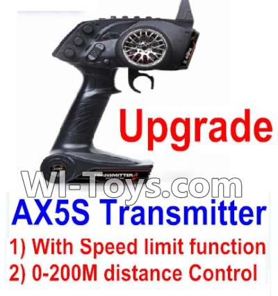 Wltoys A232 A242 A252 Parts-Upgrade AX5S Transmitter(With Speed Limit function,0-200M control)