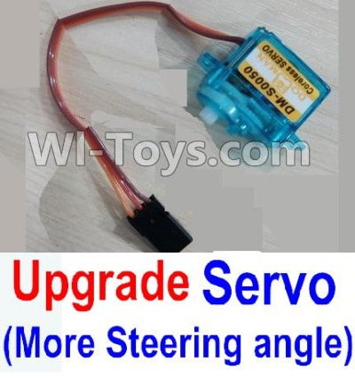 Wltoys A232 A242 A252 Parts-Upgrade Servo(More Steering angle,More Cheap price) For Wltoys A232 A242 A252 Parts-1:24 rc Drift Car Parts de