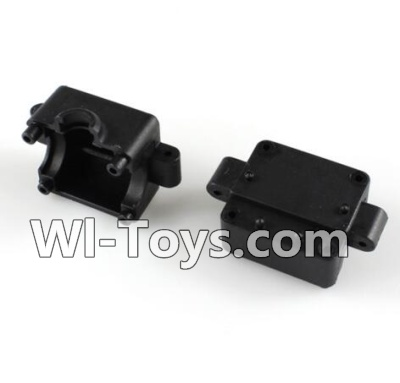 Wltoys A232 A242 A252 Parts-Bottom Gear box cover(2pcs)