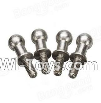 Wltoys A212 A222 A232 A242 A252 Long Ball-shape screws(4pcs-4X12.5mm)
