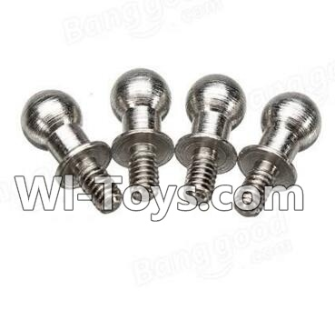 Wltoys A212 A222 A232 A242 A252 Short Ball-shape screws(4pcs-4X9.5mm)
