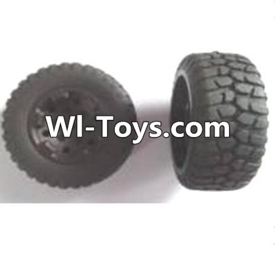 Wltoys A313 RC Car Parts-Front wheel unit Parts-2pcs,Wltoys A313 Parts