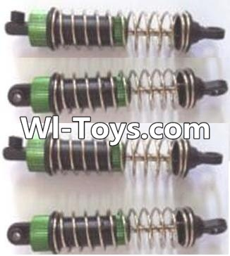 Wltoys A313 Upgrade Parts-Upgrade Metal Shock absorber assembly Parts-(4pcs)-Short,Wltoys A313 Parts